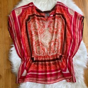 Women's Sheer Top by New Directions Size 2x
